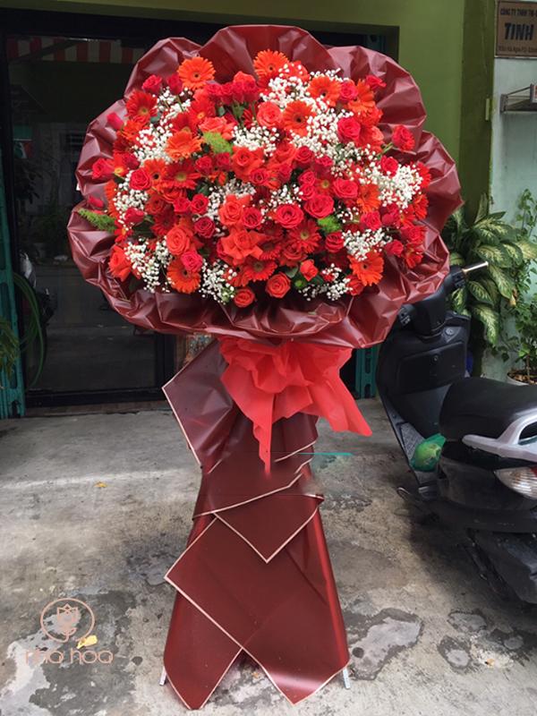 Kệ Hoa Hồng Chúc Mừng 066