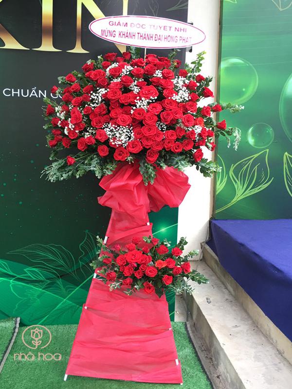 Kệ Hoa Hồng Đỏ