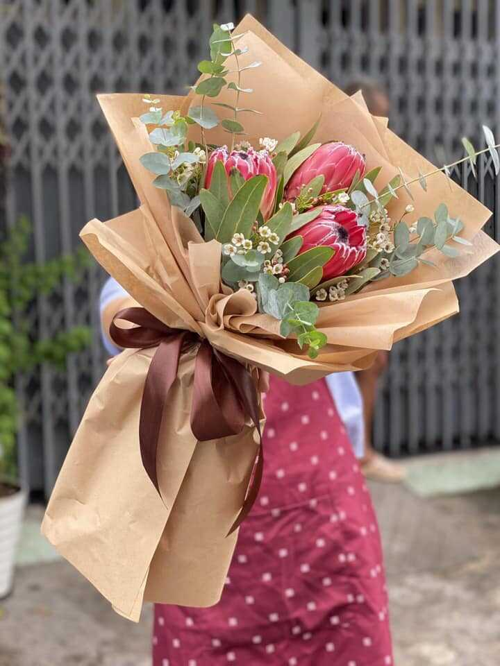 Mua bó hoa tươi ở đâu tại Hồ Chí Minh?